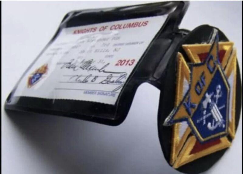 knights of columbus pocket badge