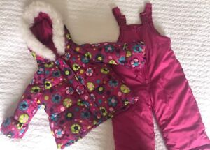 Toddler girl snow suit. 12 months.