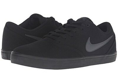 NEW Women's NIKE size 11 SB Check Solar Canvas Skate Shoe - Black or White ()