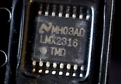 Lmx2316 1.2ghz Pllatinum Low Power Synthesizer National Semiconductor Usa Ship