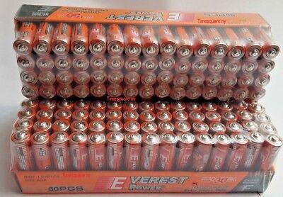 120 AAA Batteries Extra Heavy Duty 1.5 V Wholesale lot