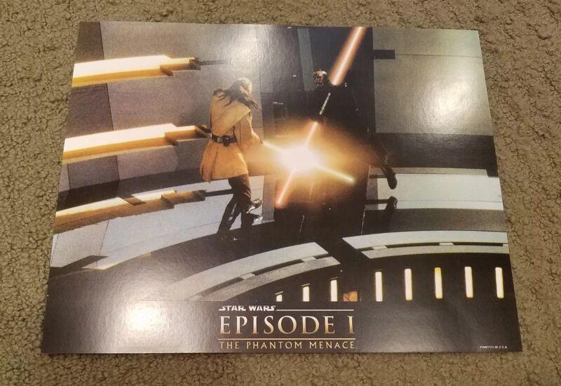 Star Wars Episode 1 The Phantom Menace movie poster print - Darth Maul
