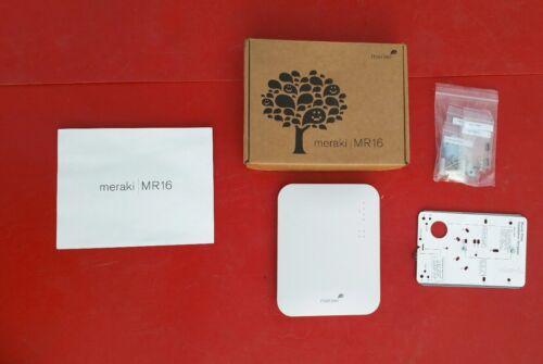 Cisco Meraki MR16 Wireless Access Point  WiFi AP PoE: No  Li