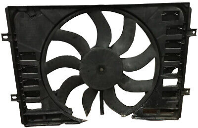 2012 Bentley Continental GT W12 OEM Radiator Air Conditioner Cooling Fan