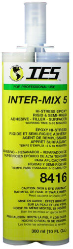 IES Inter-Mix 5 8416 High-Stress Epoxy 300ml 10 floz