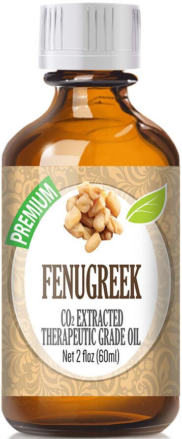 Fenugreek Essential Oil  Glass Bottle + Euro Dropper