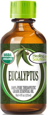Organic Eucalyptus Essential Oil (100% Pure - USDA Certified Organic) 100% Pure Organic Eucalyptus