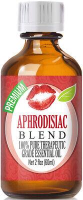 Aphrodisiac Essential Oil Blend (100% Pure & Natural) Glass Bottle + (Glass Blend)