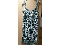 Next Black & White Dress Size 14