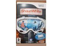 SHAUN WHITE WII GAME