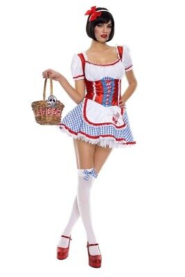 MUSIC LEGS Sexy and Cute DOROTHY WIZARD of OZ Country Farm Girl Costume