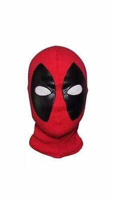 Deadpool Halloween Mask (NEW 2018 DEADPOOL MASK HALLOWEEN COSTUME COSPLAY SUPERHERO MARVEL COMICS)