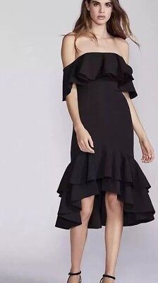 - NEW $249 Free People X Fame And Partners Sasha Dress Size 8 Little Black Party