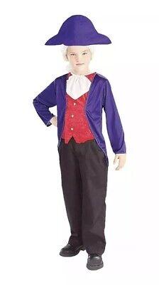 George Washington Children's Costume (Halloween Costume Boys George Washington Child Costume Size LARGE)