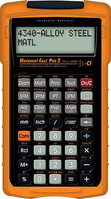 Calculated Ind. Machinist Calc Pro 2 Model 4088 Calculator with Armadillo Case
