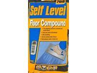 Slept level floor compound