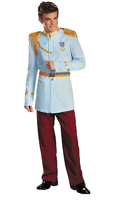 ADULT DISNEY PRINCE CHARMING CINDERELLA DELUXE COSTUME DG5969 - Adult Prince Charming