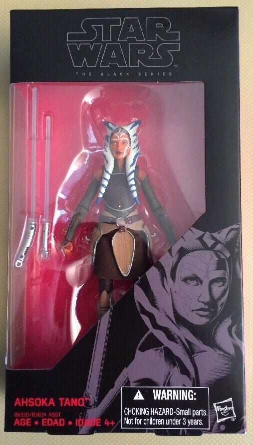 Star Wars The Black Series! #20 Ahsoka Tano! Hasbro 6-Inch Action Figure!