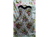 Motel tropical print dress size M