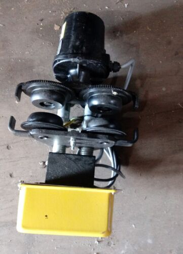 2 ton P&H motor driven trolley, power trolley, brand new!