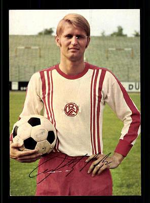 Peter Czernotzki Rot Weiss Essen Bergmann Sammelbild 1969-70 Orig Sign+ A 118573
