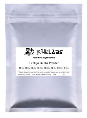 PURE Ginkgo Biloba Powder 1/2 1 2 5 lb BEST PRICE & QUALITY USA