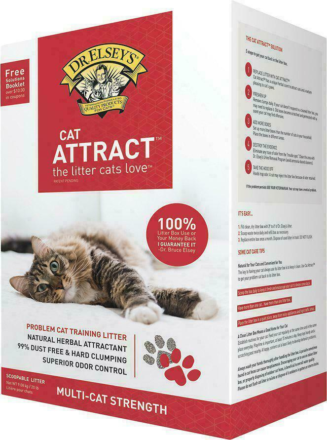 Dr. Elsey's Precious Cat Attract Clumping Clay Cat Litter, 2