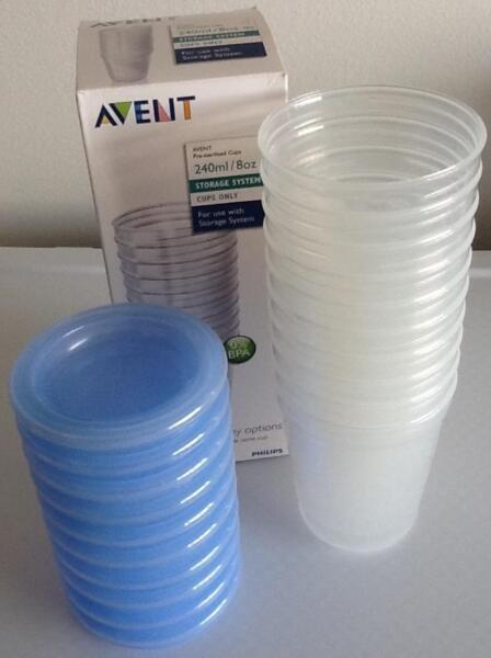 PL Philips Avent Breastmilk Storage Cup 240ml x 10