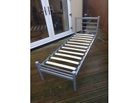 Single Bed Frame - Metal - Excellent Condition