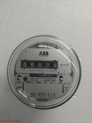 240v - Single-stator Watthour Power Meter - Abb- Elster - Ge