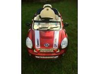 Mini Cooper child's electronic car