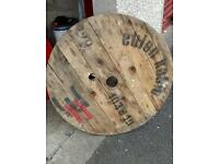Cable reel disc's