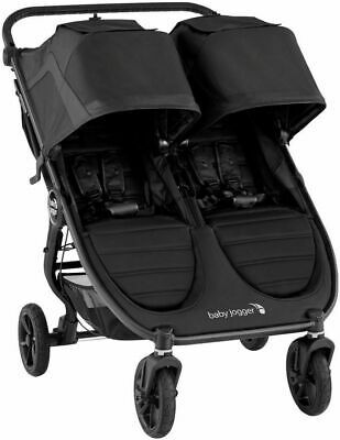 Baby Jogger City Mini GT2 Twin Baby Double Stroller Jet NEW -