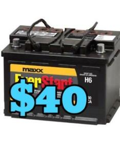 USED BATTERIES FOR SALE STARTING PRICE FROM $40 CALL 905-660-0096 | brand New Tires On Sale | Free Warranty