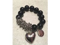 Set of 23 women's heart bracelets