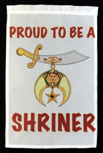 Proud To Be A Shriner Garden Flag