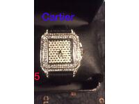 Diamond Cartier watch