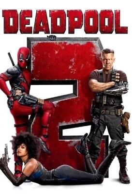Deadpool 2 (DVD,2018) NEW*  Action, Comedy, S/Fiction* PRE-ORDER SHIPS ON 08/21
