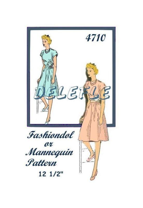 4710 Fashiondol Mannequin Manikin Casual Dress Cap Slee