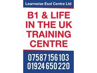 Life in the UK and Trinity B1 free classes