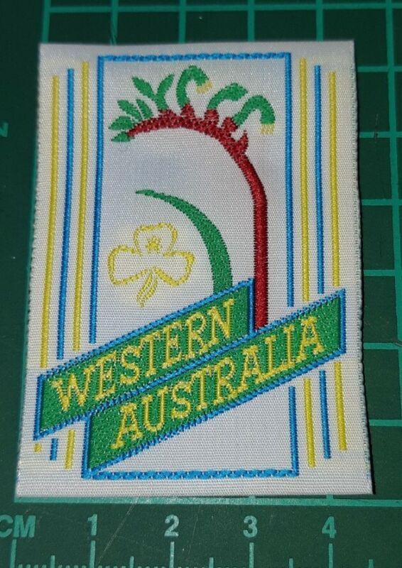Girl Guides Western Australia Kangaroo Paw Badge