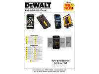 At last the Dewalt Mobile Phone at a reasonable price.