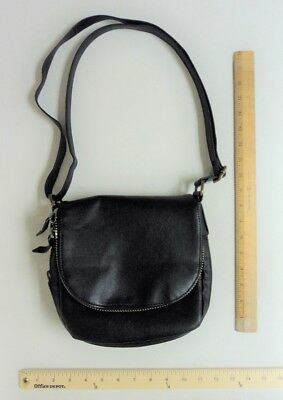 Sonoma BLACK Hand Bag Tote Purse SADDLE Style Cross Body Satchel FLASH SALE](Cheap Tote Handbags)