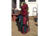 Full set golf clubs.bag ..balls tees (must read and check photos