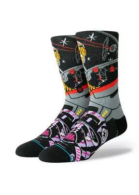Warped Luke Skywalker X-Wing & Tie Pilot Star Wars STANCE Socks Large Men's 9-12