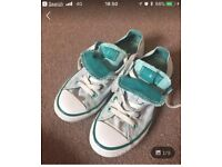 Child's converse trainers size 13