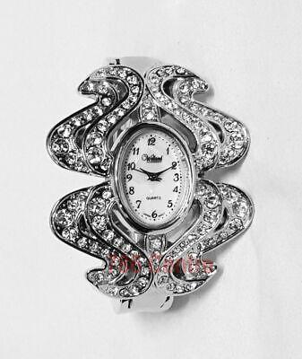 Black Friday Deal, Luxury Fashion Ladies Bracelet Watch Diamond Quartz Watch