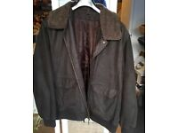 Duffer St.George leather men's jacket XL