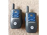 Motorola T4525 walkie talkies - pair