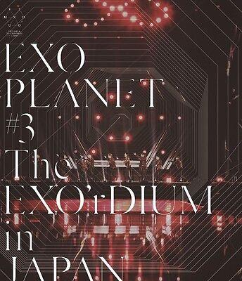EXO [EXO PLANET #3 – The EXO'rDIUM in JAPAN] Blu-ray Regular Edition